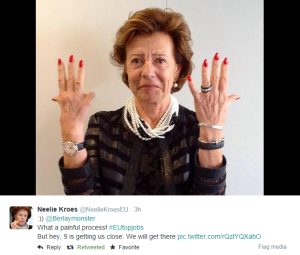 Neelie Kroes on Twitter