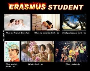 Erasmus ni le študijska izmenjava, temveč tudi in predvsem priložnost za nabiranje novih izkušenj in ustvarjanje prijateljstev.