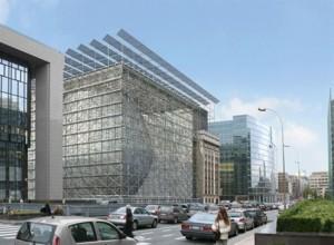Morda bo tekom madnata novega predsednika Evropskega sveta dokončana tudi nova stavba za institucijo. Vir: eupika.mfdps.si