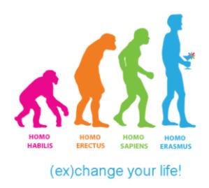 Samo v akademskem letu 2011/2012 je Erasmus omogočil preko četrt milijona mladim, da del izobraževanja opravijo v tujini ali grejo na delovno prakso. Vir: etnologiadigitale.it
