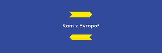 Kam želite da gre Evropa? (Vir: Evropska komisija v Sloveniji na Facebook-u)