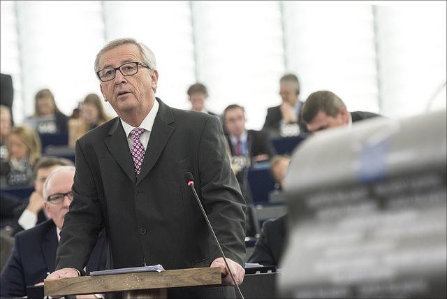 Jean-Claude Juncker predstavlja načrt evropskim poslancem (Vir: (c) Evropska unija 2014 - Evropski parlament)