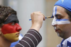 Finančna kriza je skrhala Grško-Nemške odnose. Vir: EurActiv