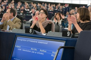 Glasovanje o resoluciji o Palestini (Vir: (c) Evropska unija 2014 - Evropski parlament)