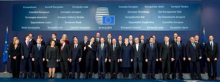 Skupinska fotografija pred zasedanjem (Vir: (c) Evropska unija 2014)