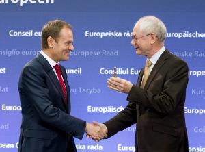 Predaja poslov med starim in novim predsednikom Evropskega sveta (Vir: (c) Evropska unija)