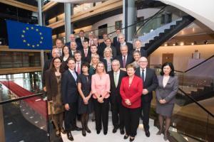 Komisarji bodo opravili uradno zaprisego pred Sodiščem EU (Vir: (c) Evropska unija 2014)