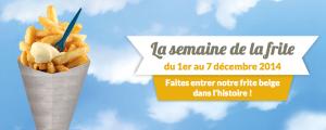Belgijski teden krompirčka (Vir: semainedelafrite.be)