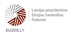Logotip predsedovanja (Vir: eu2015.lv)