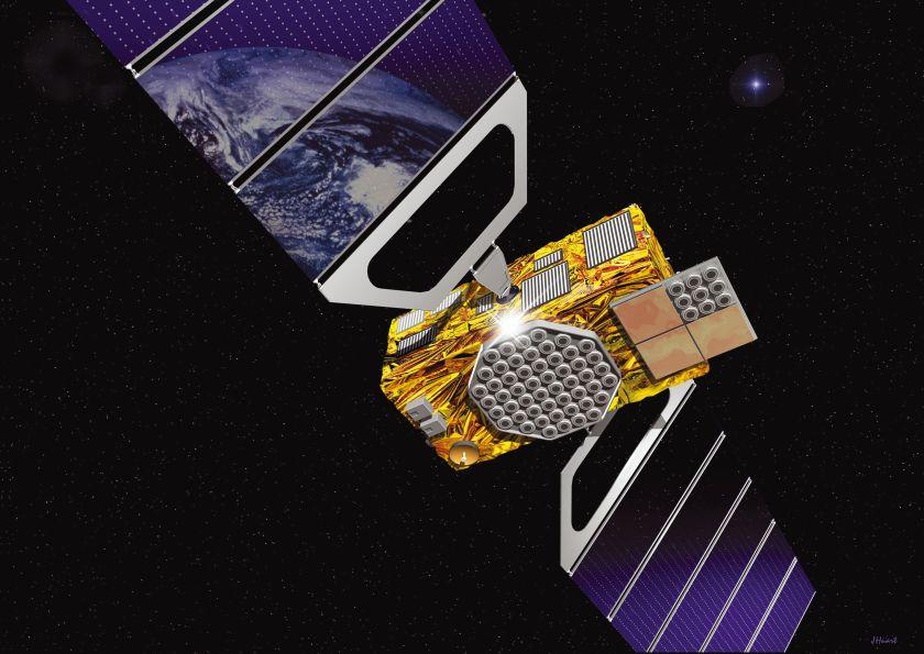 Satelit evropskega sistema Galileo. Vir: ec. europa.eu