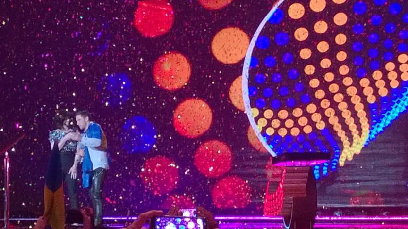 Zmagovalca lanske in letošnje Evrovizije (foto: David Sopotnik)