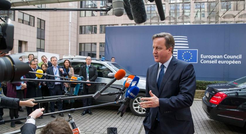 Cameron ob prihodu na decembrski vrh Evropskega sveta (Vir: (c) Evropska unija 2015)